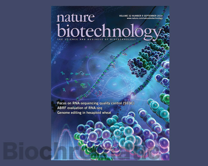 Cover Nature Biotechnology